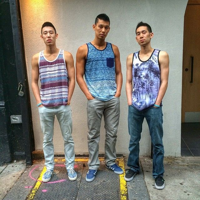 Bro Tanks Jeremy Lin Middle Jeremy Lin Shirts And Vests