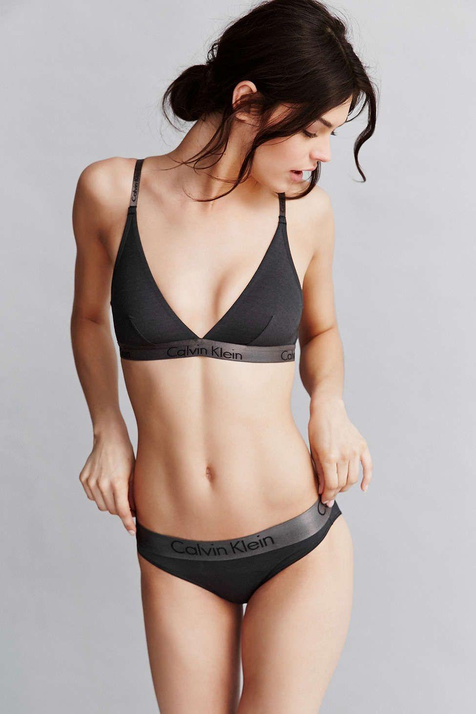 948cb3ae0aeea Calvin Klein Dual Tone Bikini - Urban Outfitters