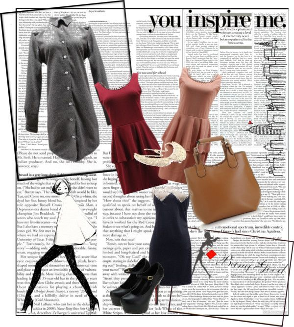 """Your simple life - dresses 3"" by banggood ❤ liked on Polyvore"