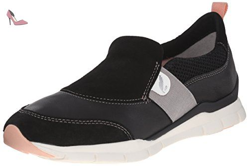 Donna Euro D, Mocassins (Loafers) Femme, Rose (Taupe), 38 EUGeox