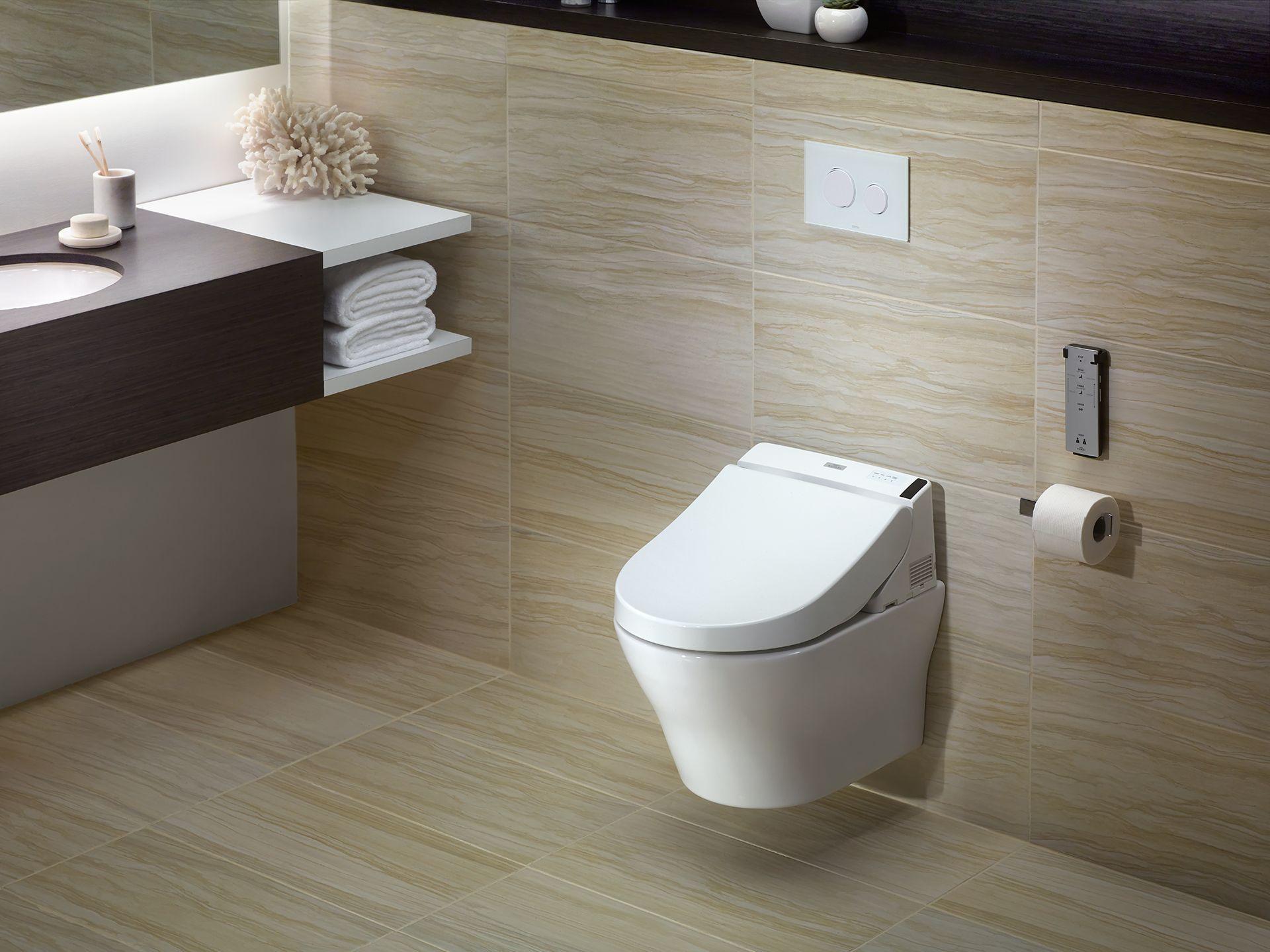 Toto SW204401 Washlet® C200 Elongated Bidet Toilet Seat