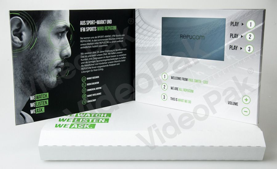 Repucom Videopak WwwVideoBrochureCom  A Videopak  Video