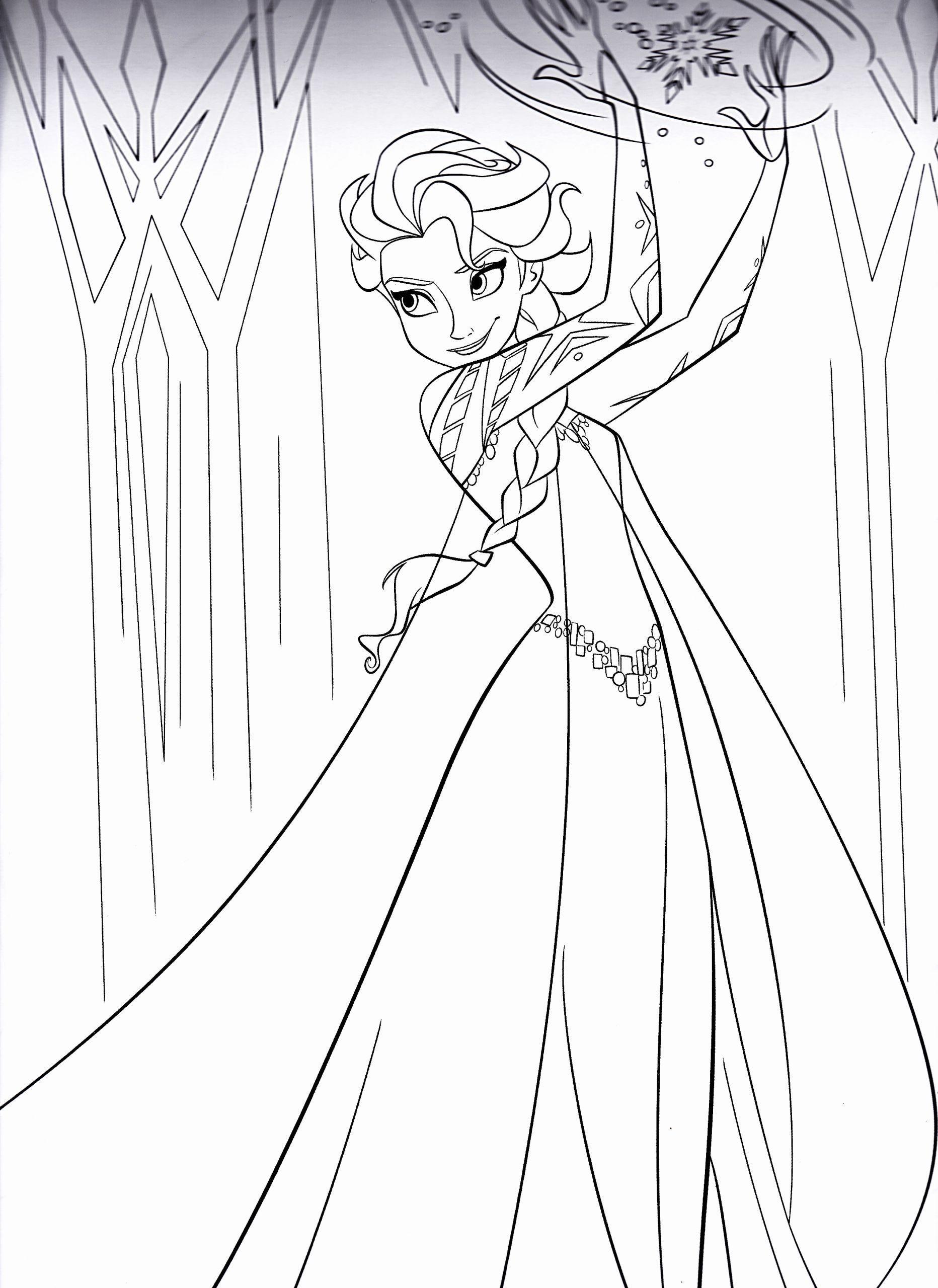 Elsa Coloring Pages Disney Best Of Disney S Frozen Colouring Pages Wajah
