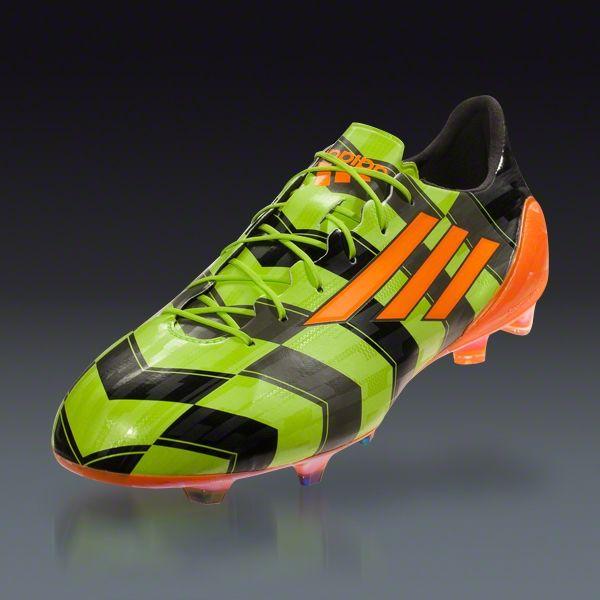 6de38c5c889 adidas F50 adizero Crazy Light - Solar Slime Solar Zest Black Firm Ground  Soccer Shoes