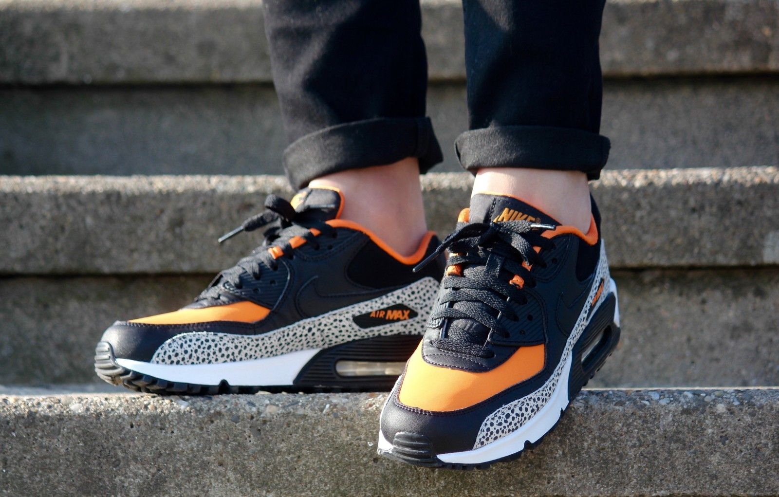 Nike Air Max 90 Safari (GS) 820340 100 Nike air max, Air