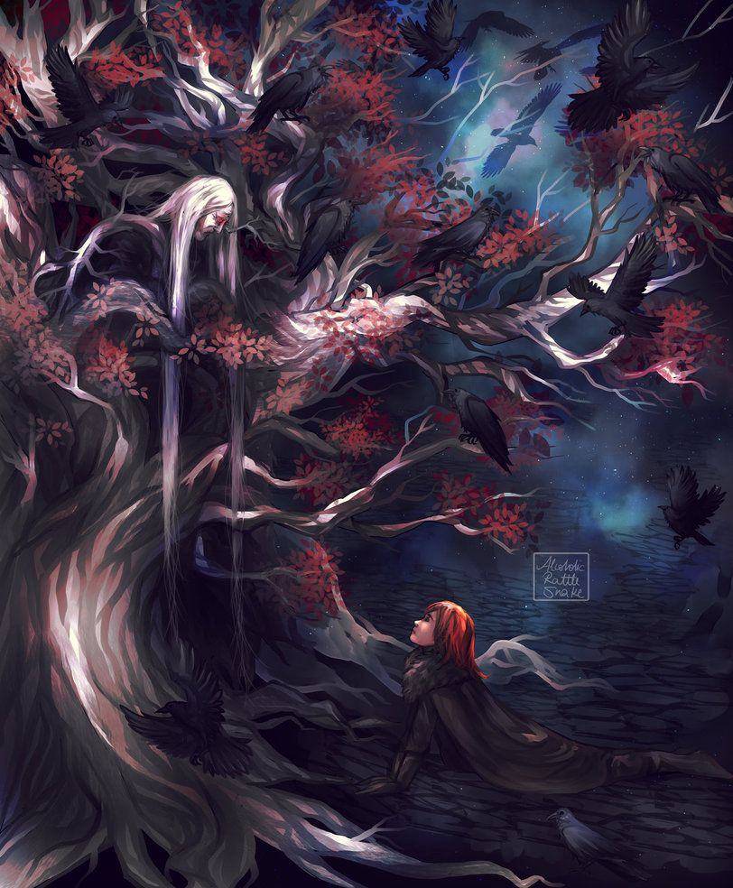 Bloodraven And Bran By Alcoholicrattlesnake Not Gonna Lie I Have A