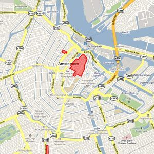 Red Light District Amsterdam Map Red Light District Map #amsterdamredlightdistrict | Amsterdam