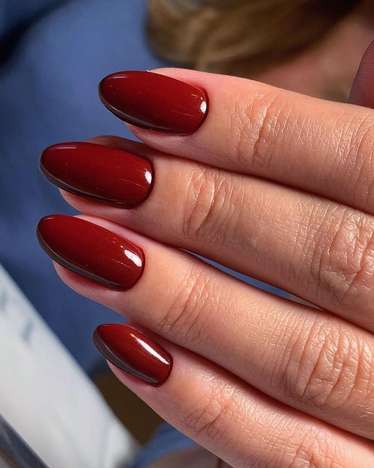 weihnachtliche lange rote nägel | Nagelideen, Rote nägel