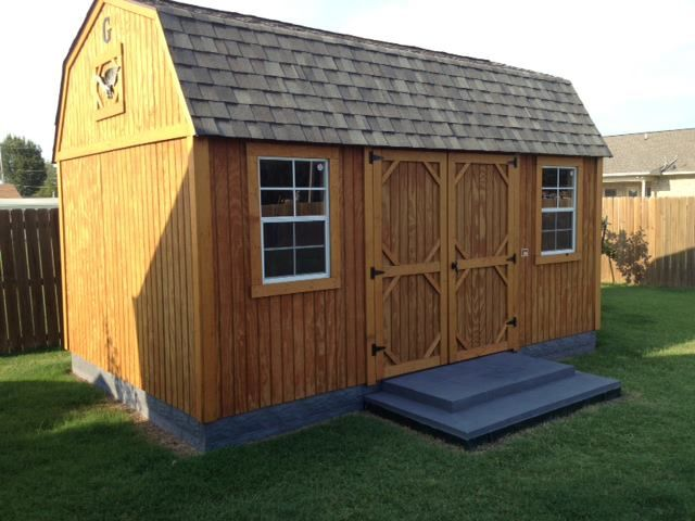 A Customer Added Skirting To Their Graceland Portable Building How Creative Get Yours Today See A Shed Skirting Ideas Shed Design Plans Portable Buildings