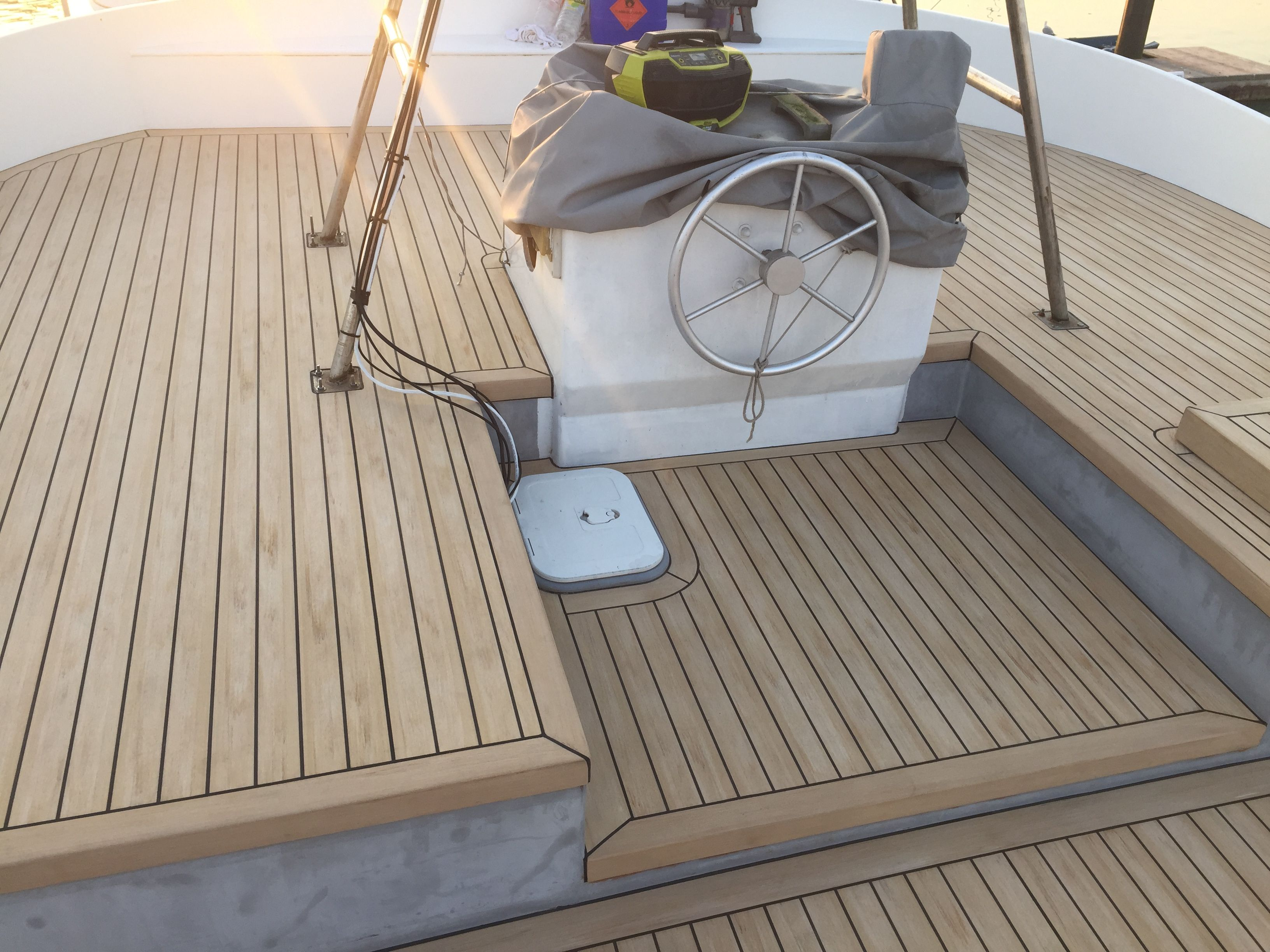 Boat Floor Board Replacement Material Best Flooring For Boats