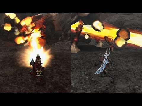 [MHFG] Lavasioth Subspecies (ヴォルガノス亜種) Hunters Journey - YouTube