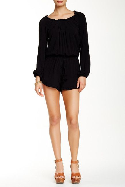 Socialite Long Sleeve Romper
