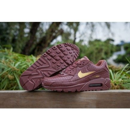 wholesale dealer f438b 28a5c Nike Air Max 90 Diamondback Quickstrike Chocolate Gold Womens - Air Max