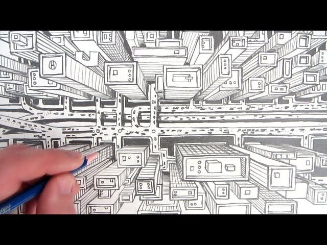 couch drawing birds eye view. Drawing 3d Bird Eye View Futuristic City - Google Search Couch Birds E