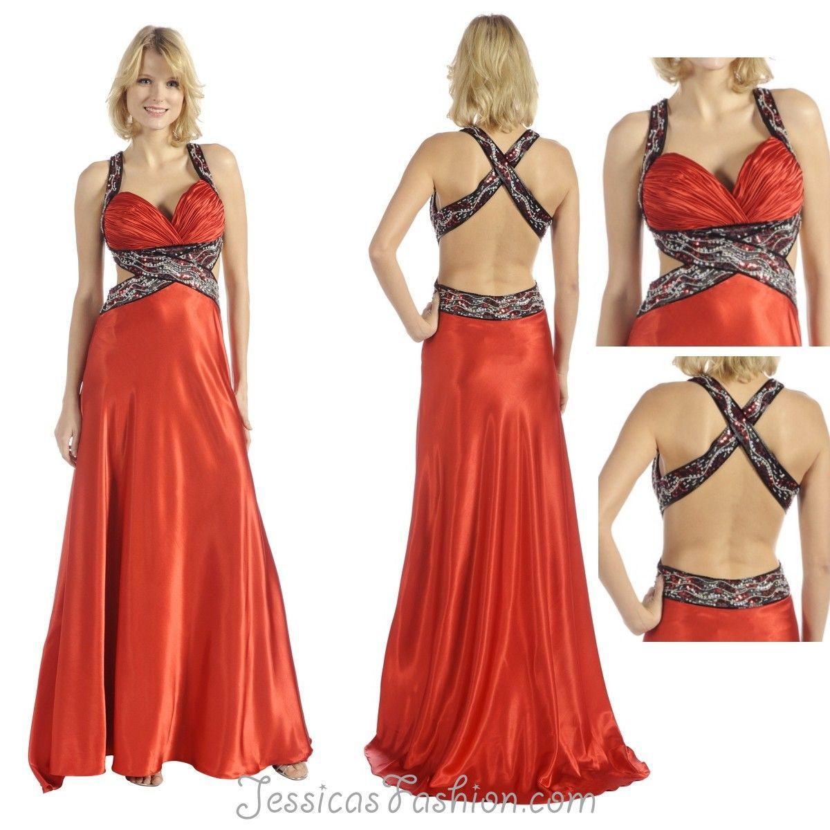Long prom dress in color red black u more sweetheart neckline