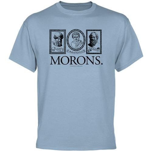 Plato aristotle socrates morons