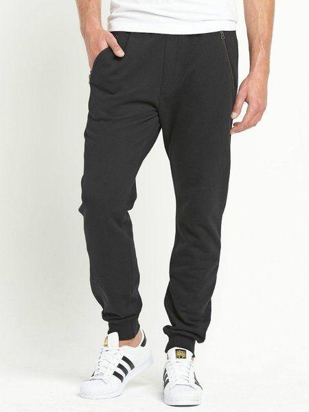 Goodsouls MEDIUM Black Fashion Zip Joggers 0750 | KoolGreen quality second hand and brandnew fashion for half price
