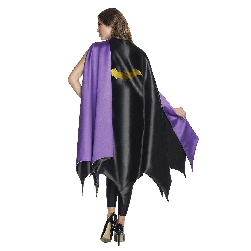 Adult DC Comics Batgirl Deluxe Halloween Costume Cape