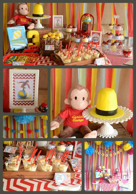 4ad76c9ffdd The Howard Family Blog: Kennedie's Curious George Party | Birthday ...
