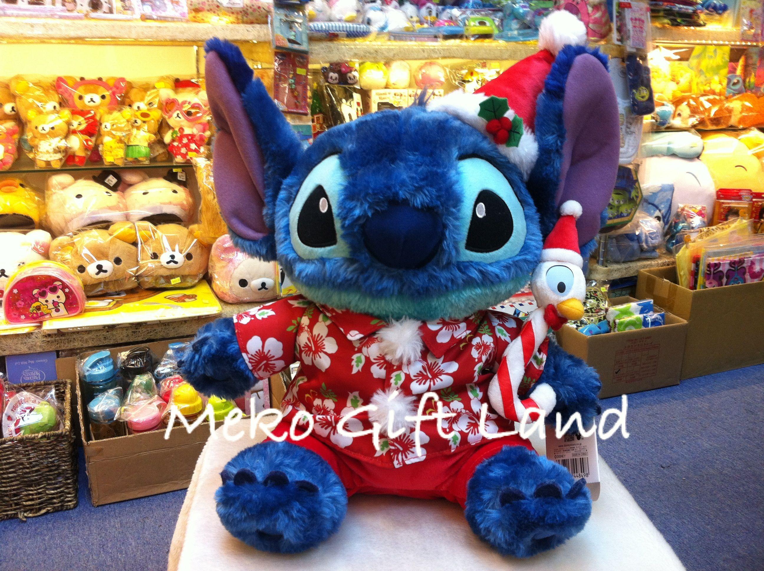Disney Stitch Christmas Edition Big Plush Size : H40 cm 不設報價服務 ...