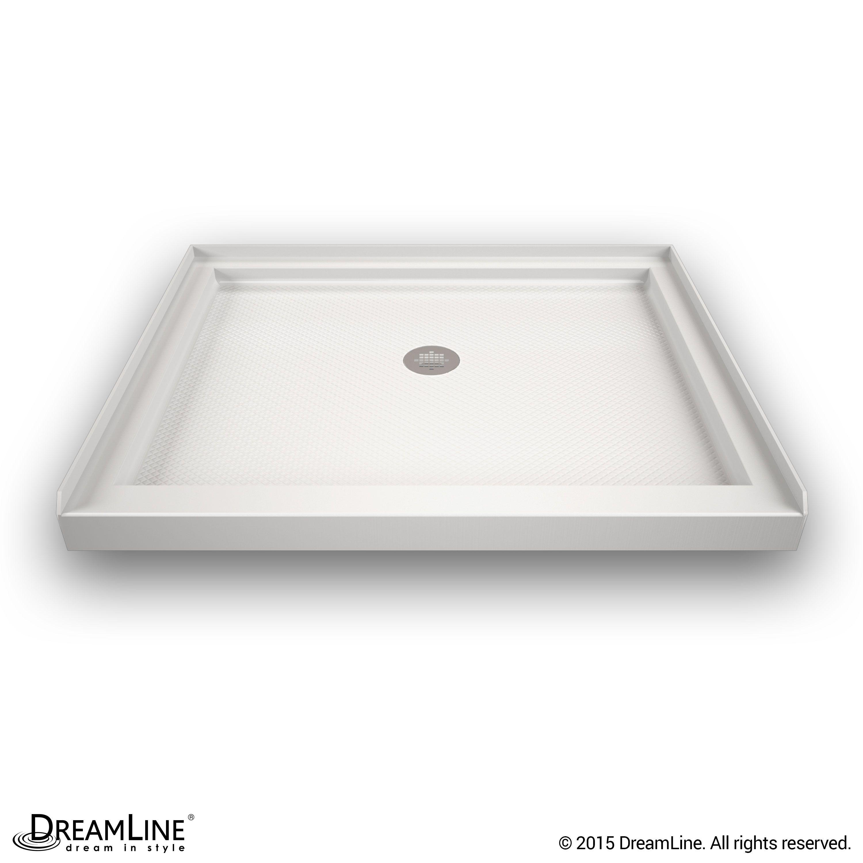 The Dreamline Slimline Double Threshold Shower Floor May Be Used