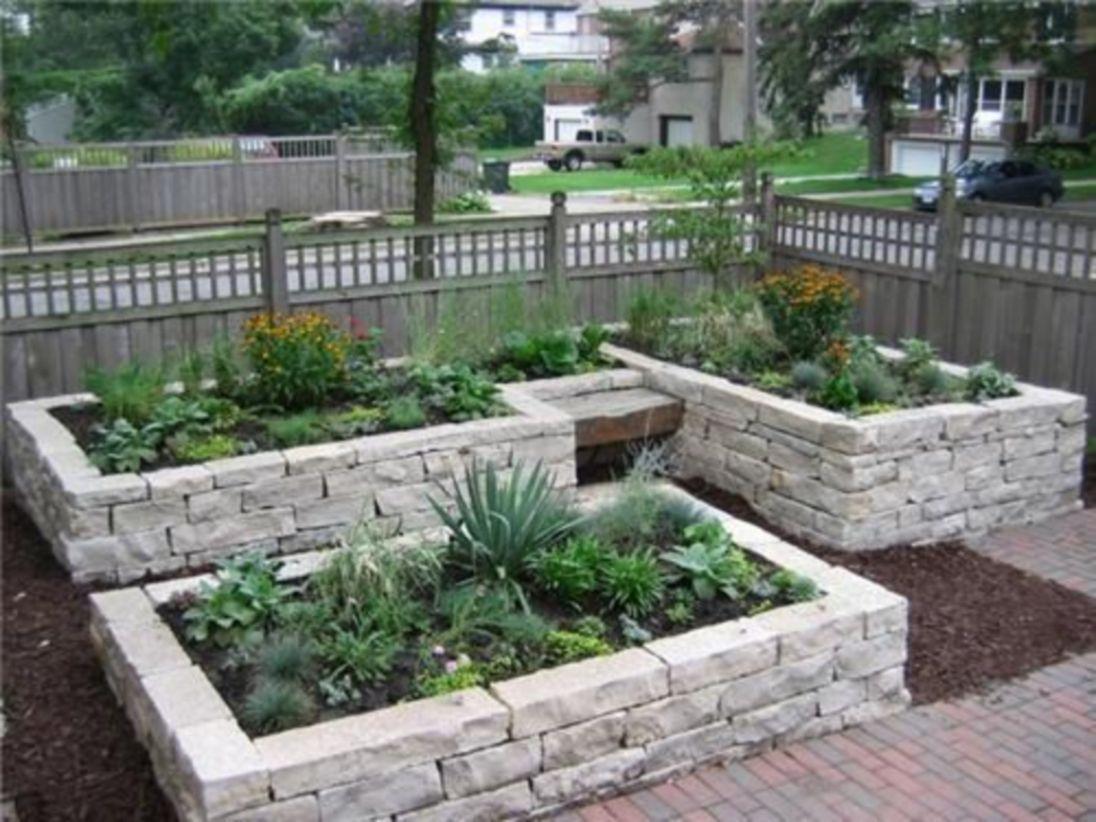 Beautiful DIY Raised Garden Beds Ideas22 Garden boxes