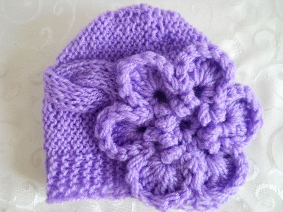 Baby knit hat $15