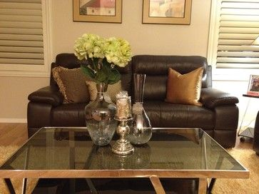 Centerpiece Ideas For My Coffee Table Houzz Coffee Table Styling Living Rooms Coffee Table Centerpieces Simple Coffee Table