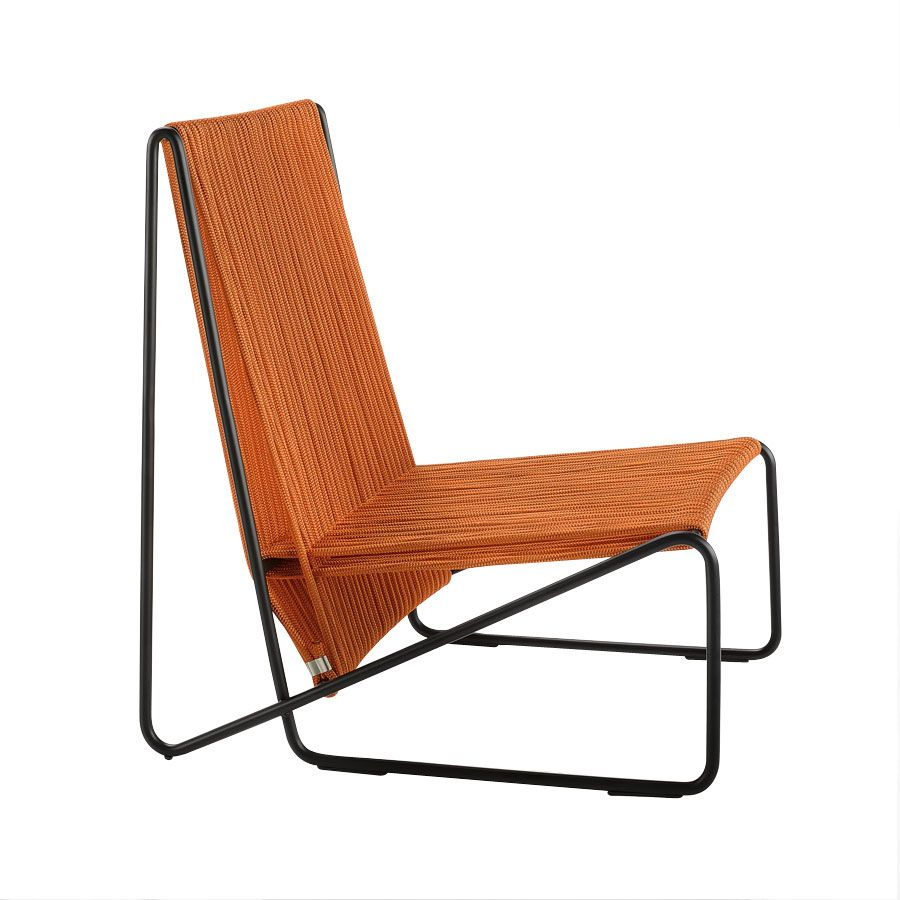 Rada Lounge Chair Steel Structure Available In White Black Or Other Ral Colours Seat And Back Interwoven With Nautica Chair Lounge Chair Outdoor Furniture