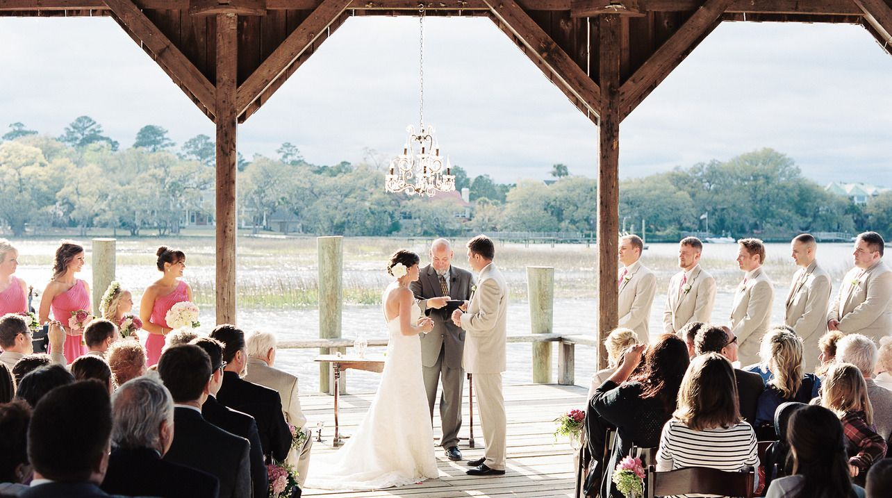 Charleston Wedding Boone Hall Plantation Via Ooh Events And Studio 1250 Photography