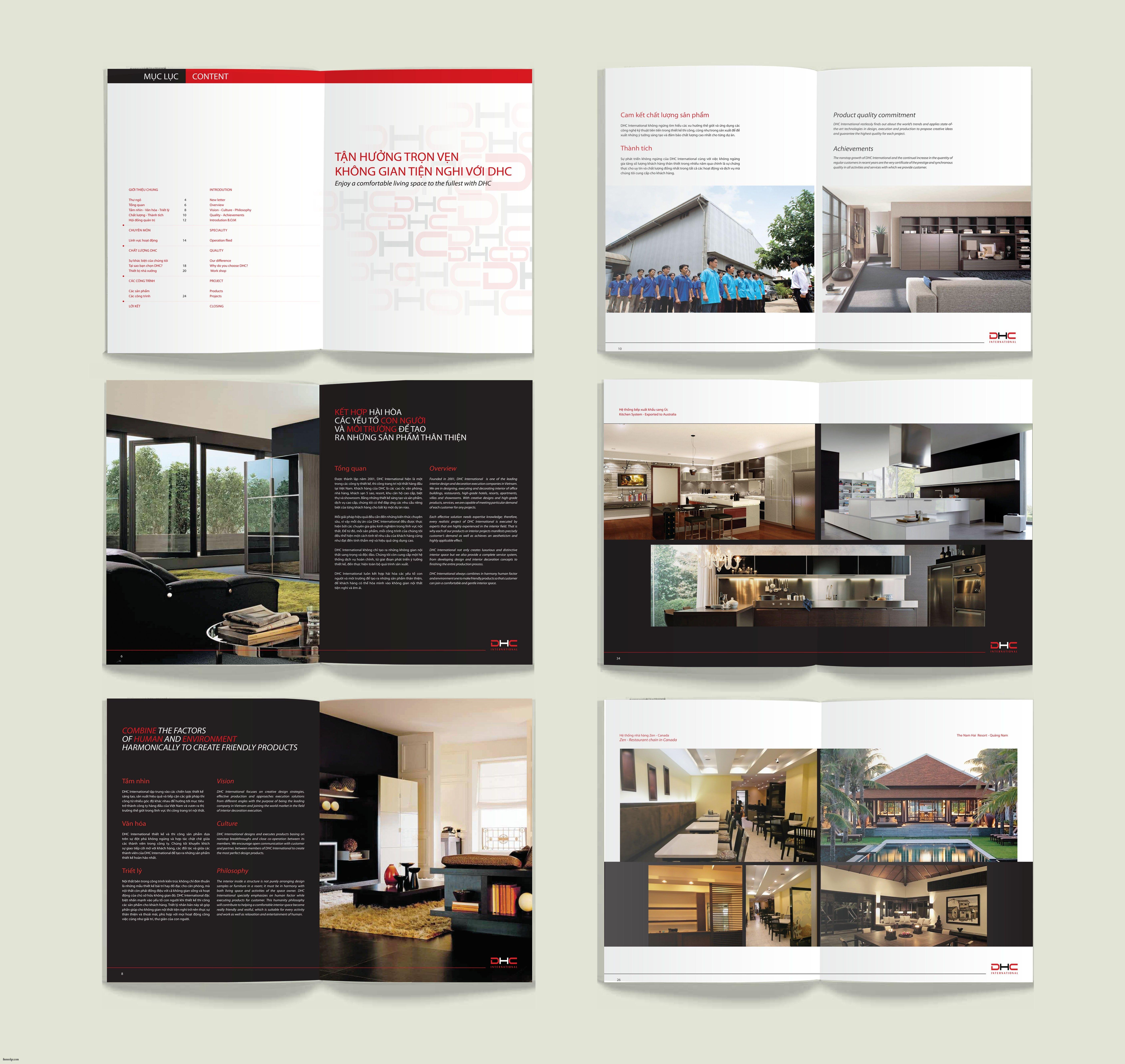 new Amazing Interior Company Profile pany by Minh Tho Vu at