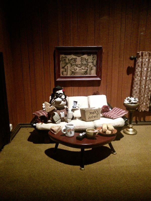 I Want The World To Stop Mary And Max Exhibition Acmi Mary And Max Max Movie Animation Film