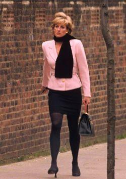 Princes Diana Street Style Fashion Find Affordable Designer