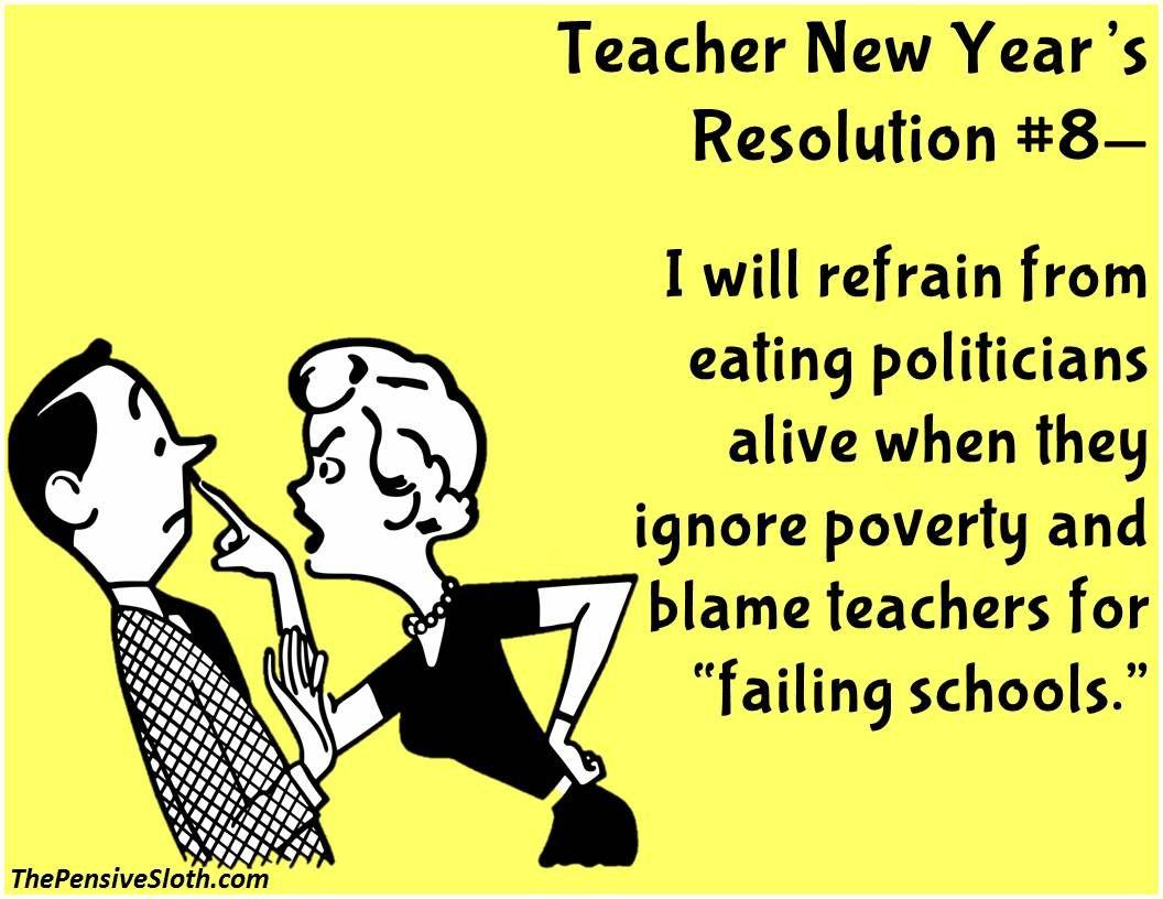 Teacher New Year's ResolutionsVersion 2016! Teacher