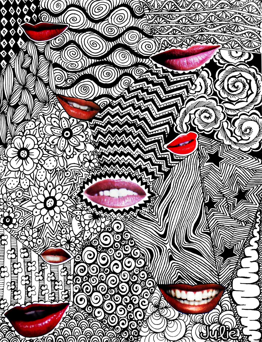 Tangled Lips By Starliteyes420 Deviantart