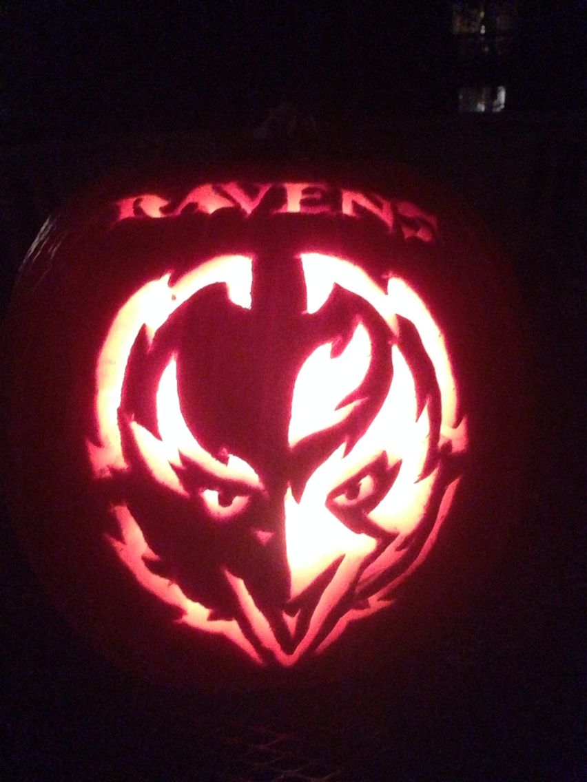 Ravens Pumpkin Jackolantern Holiday Festival Pumpkin Jack O Lantern