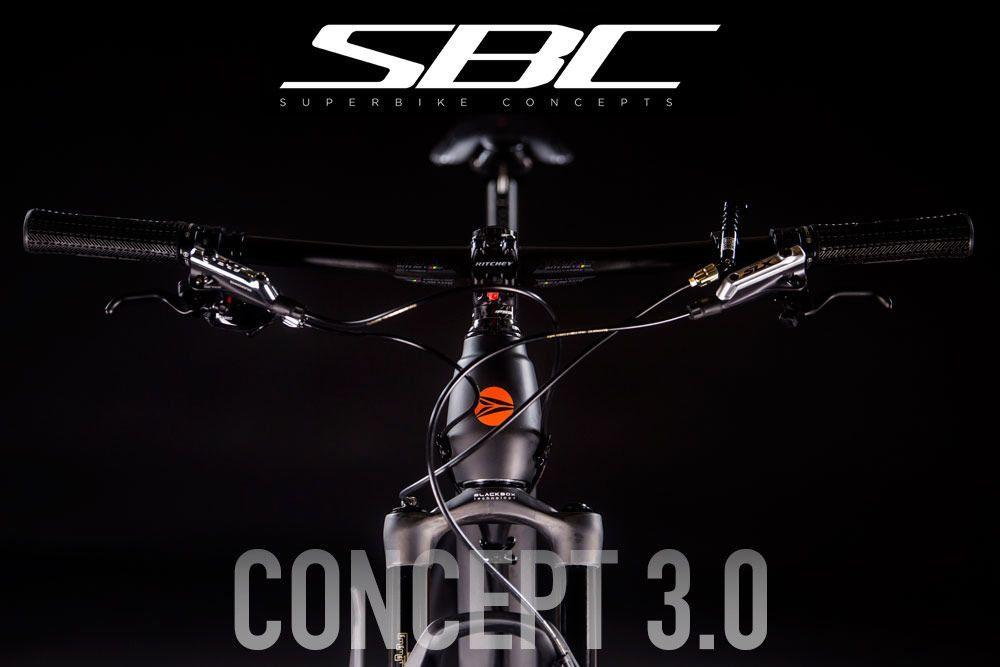 Carbon artistry SBC Concept 3.0 #teamsilverback