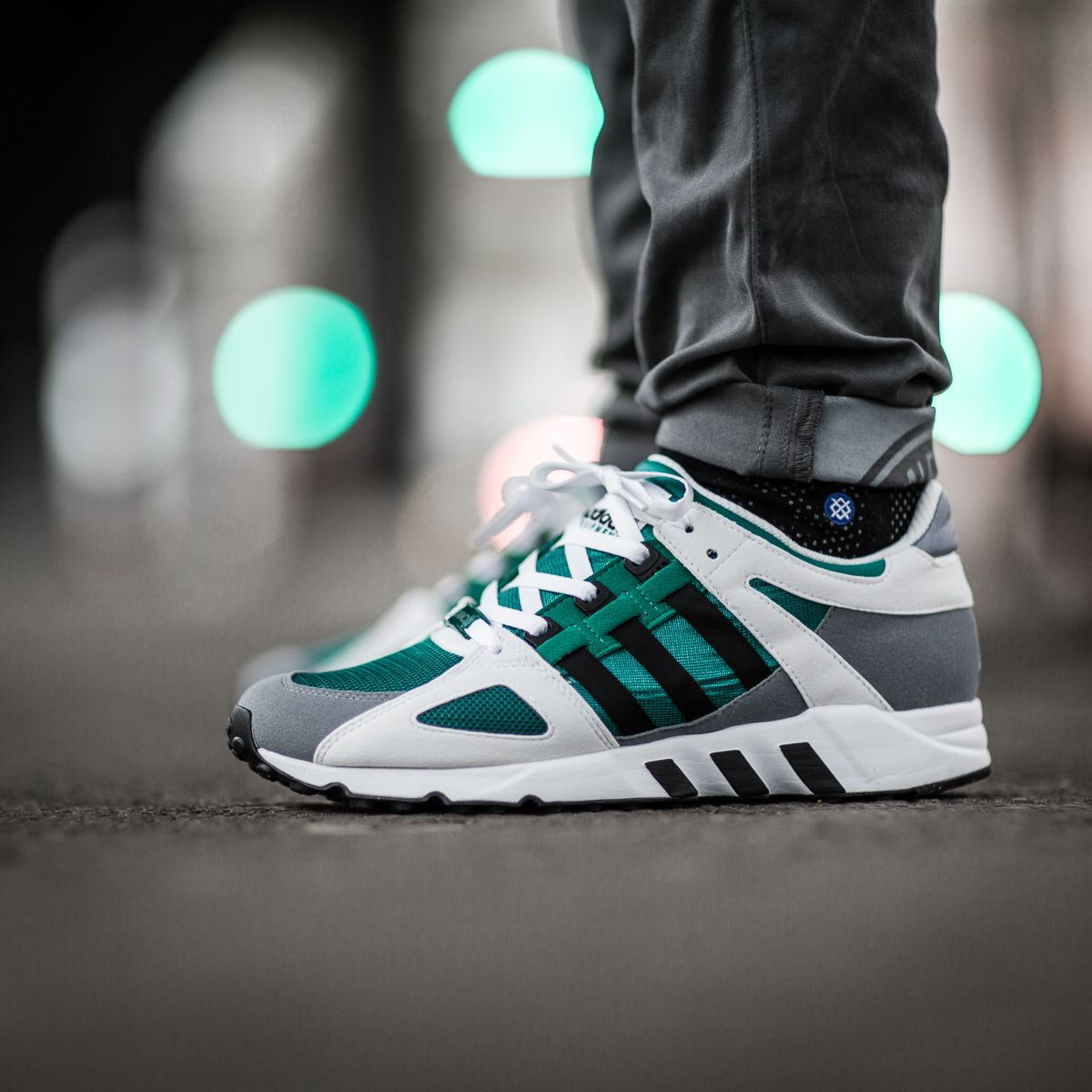 "new product 7dd7e 7010c adidas EQT Guidance 93 ""Sub Green"""