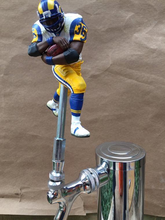 save off bab8f 44b91 Los Angeles Rams Tap Handle NFL Football Beer Keg Kegerator ...