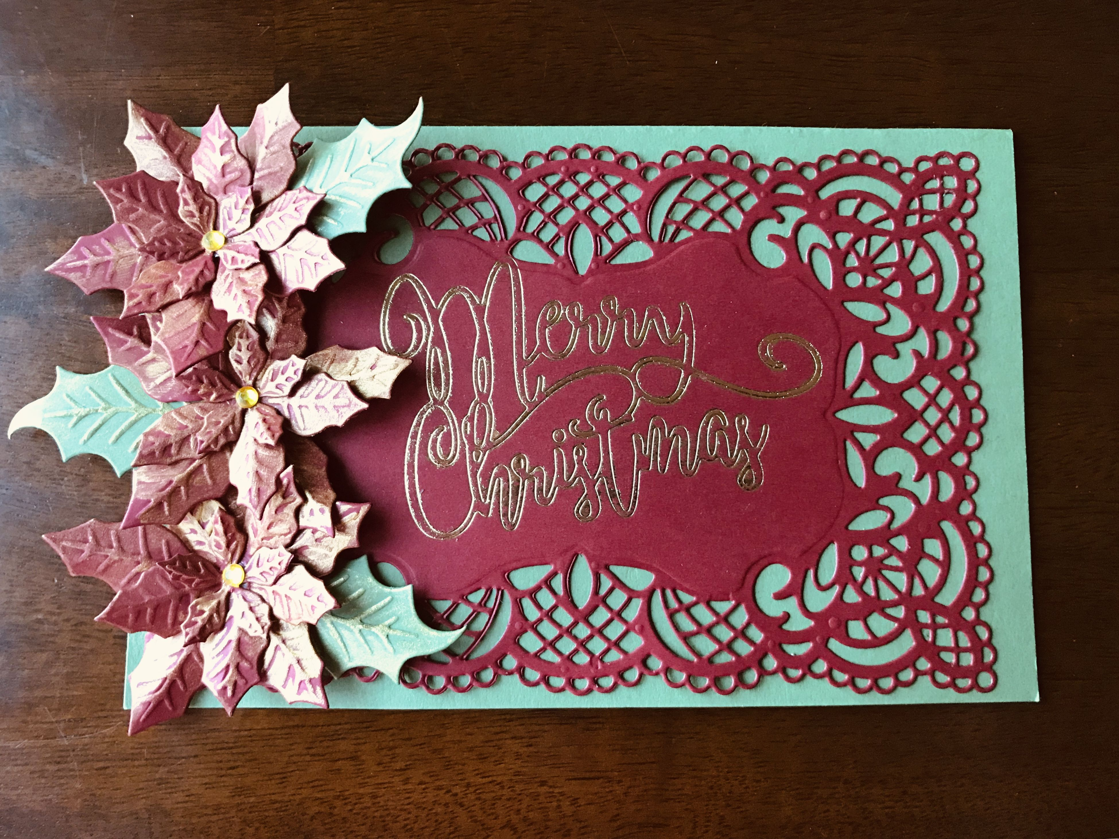 Pin by Renee DeSchane on Crafters Companion Poinsettia