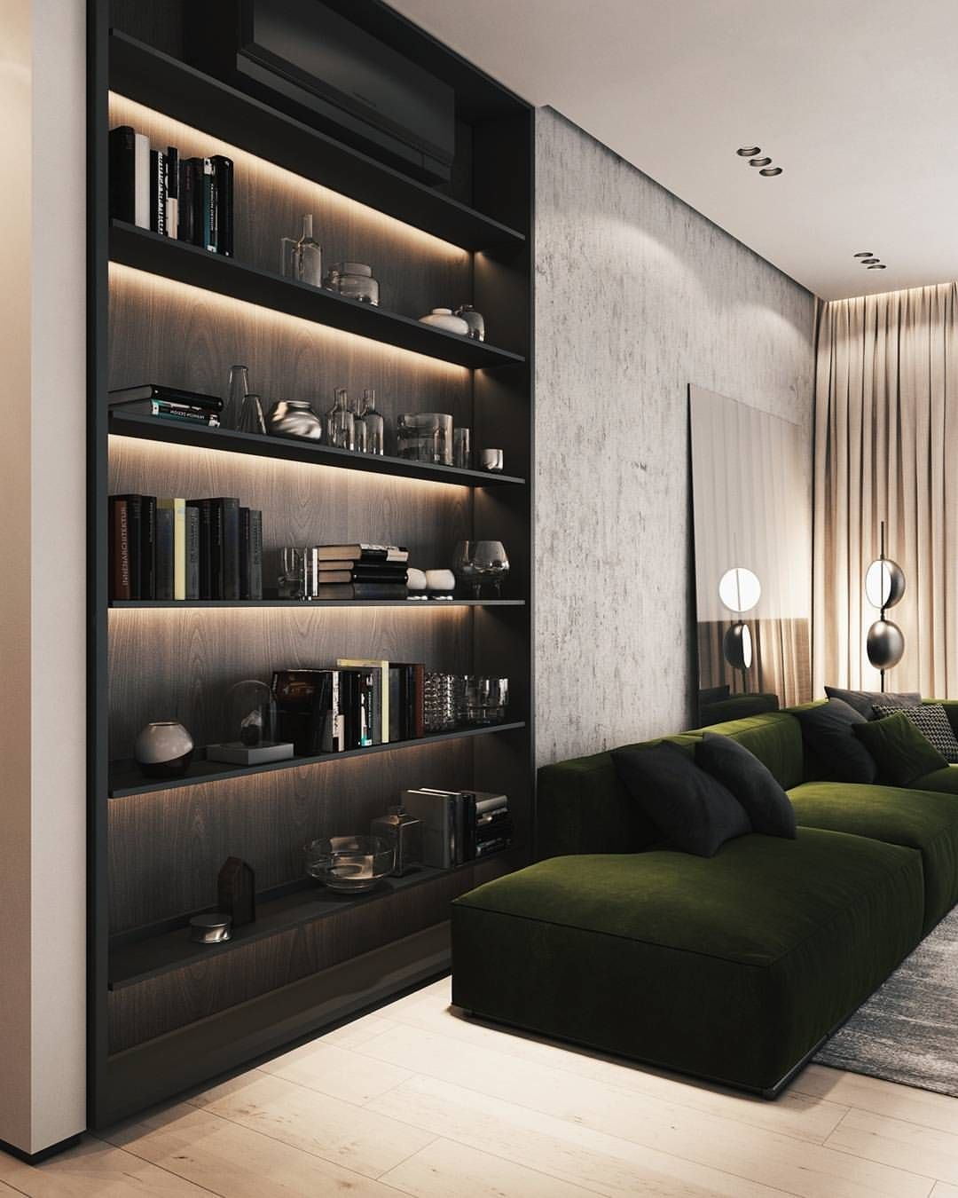 Fashionable Modern Living Rooms Contemporary Apartment Modern