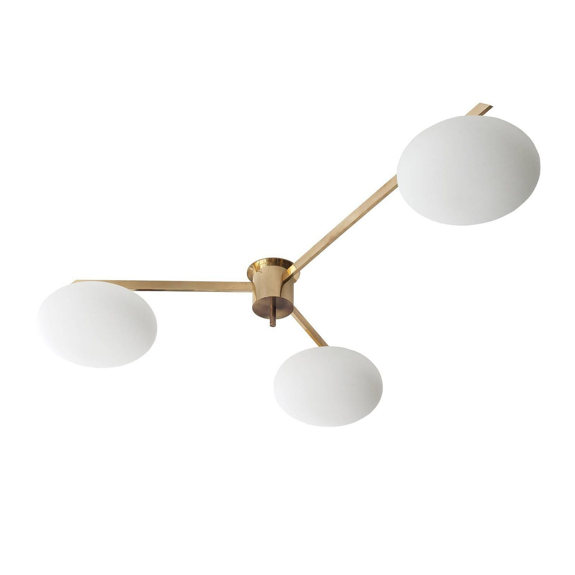 Buy Lelli 3 Arm Flush Mount By Carlyle Collective Made To Order Designer Lighting From Transitional Decor Transitional Dining Room Decor Modern Flush Mount