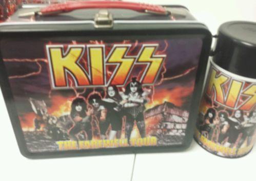 Kiss 2000 Farewell Tour Neca Lunchbox Near Mint W Thermos Ebay