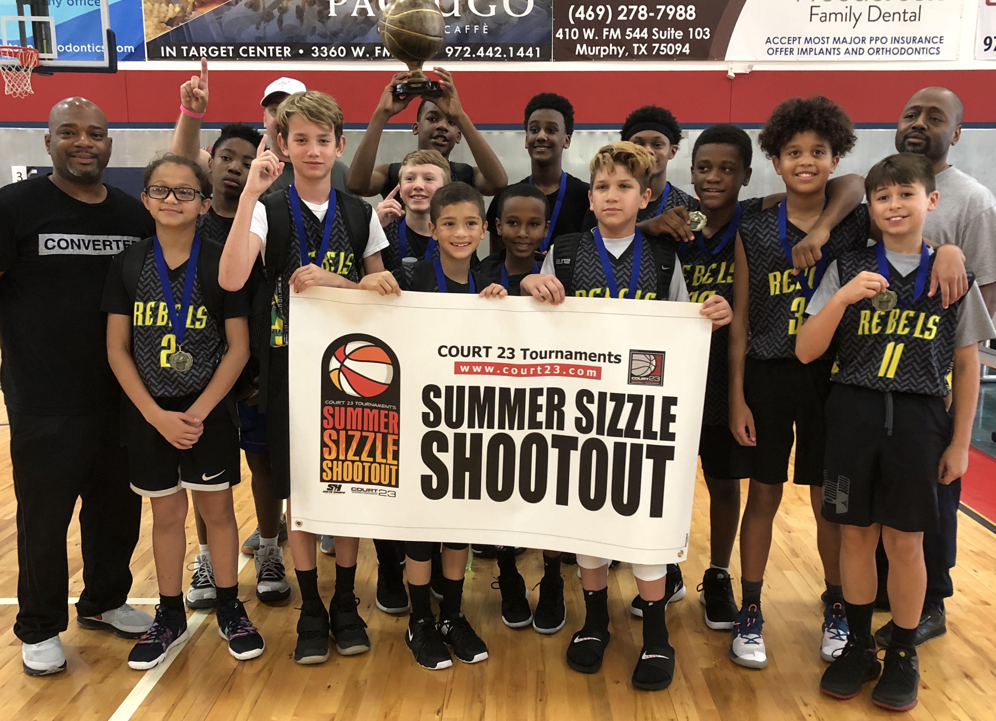 Court 23 Tournaments Elite Youth Basketball Tournaments Summer Sizzle Shootout Youth Basketball Tournaments Basketball Tournament