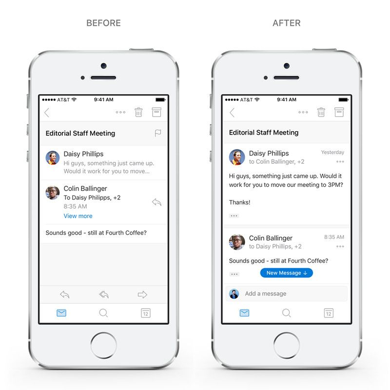 Microsoft Outlook Is Getting New Search And Reply Features On Ios