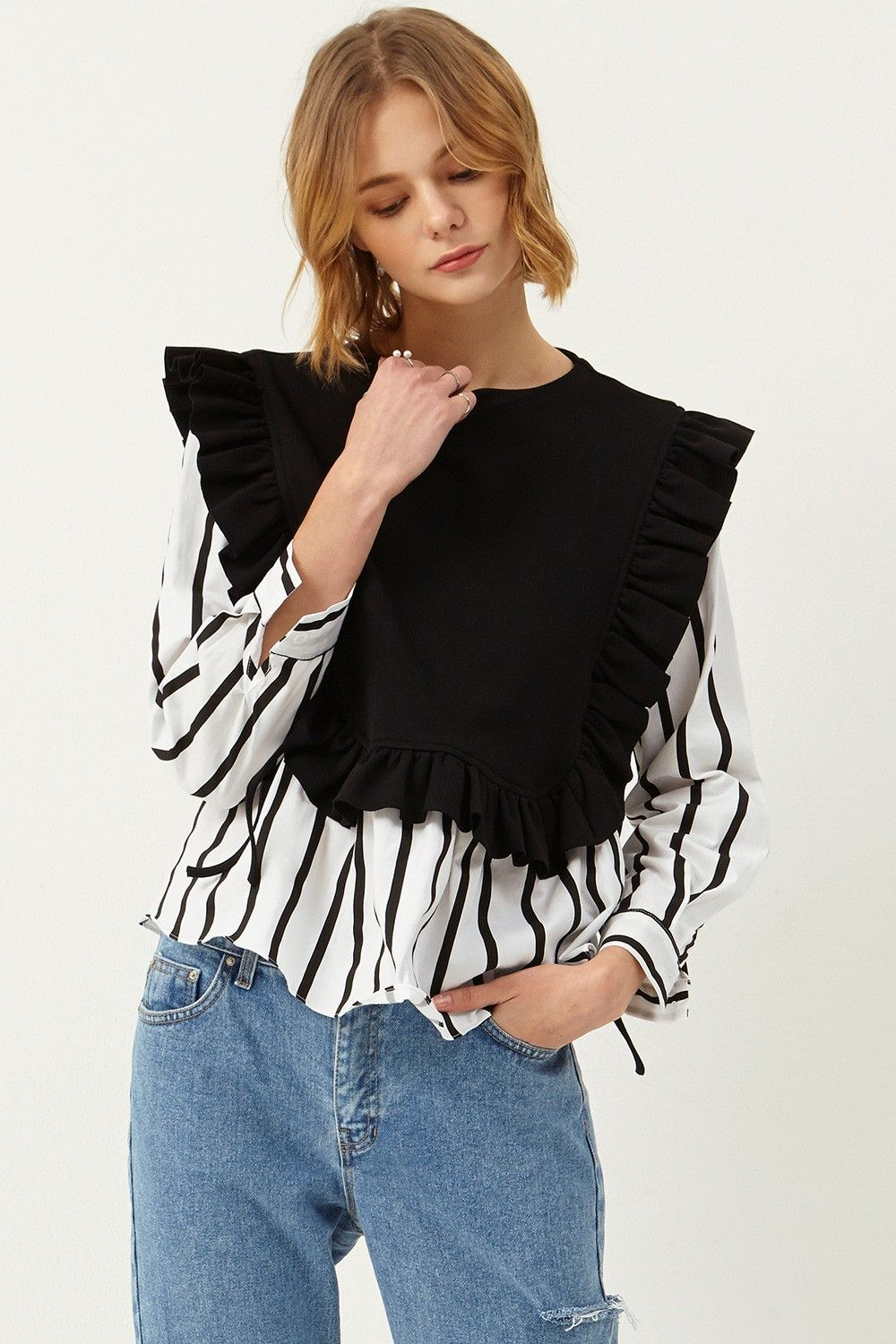 Monica Vest Overlay Shirt >>Discover the latest fashion trends ...