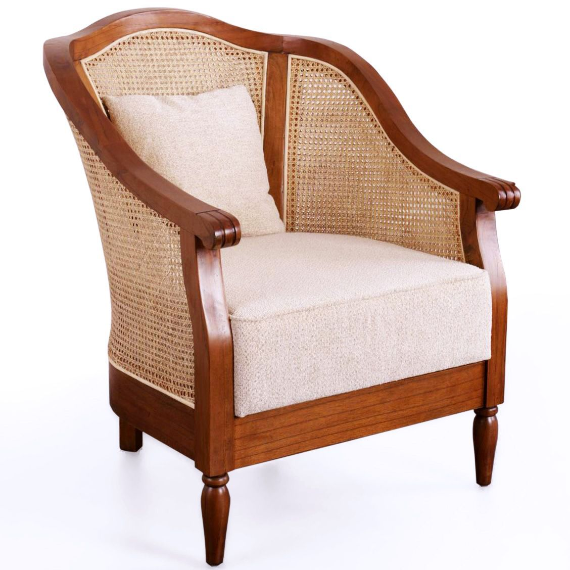 French Colonial Style Chair