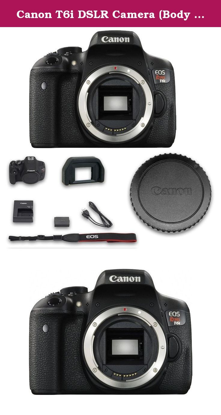 Canon T6i Dslr Camera Body Only No Lenses All Origina