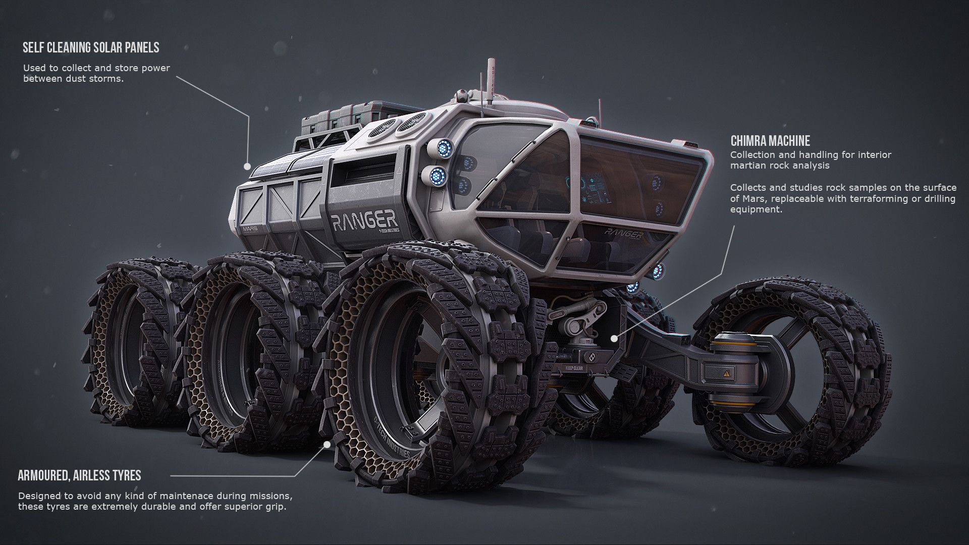 space engineers mars rover - photo #7