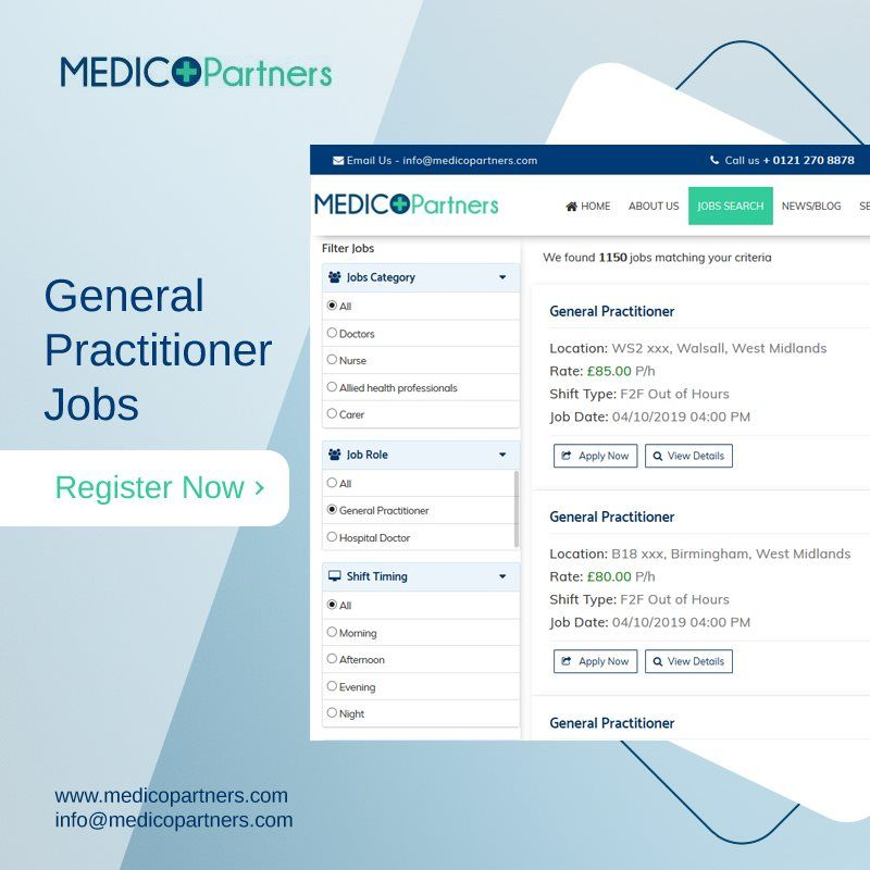 Get instant job matches for medical hiring now for General